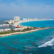 Aerial View of the Club Med Hotel.<br />