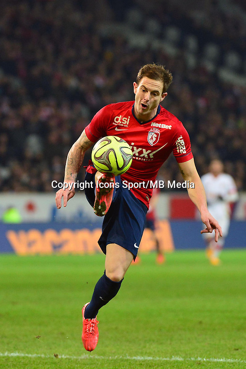 Nolan ROUX  - 24.01.2015 - Lille / Monaco - 22eme journee de Ligue1<br />
