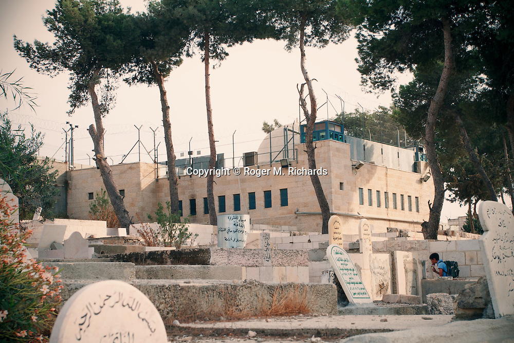 Rachel's Tomb on the outskirts of Jerusalem and Bethlehem.