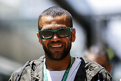 November 17, 2019, Sao Paulo, SP, Brazil: The Brazilian soccer player DANIEL ALVES during Brazilian Formula 1 Grand Prix at Interlagos racetrack. (Credit Image: © Marcelo Chello/ZUMA Wire)