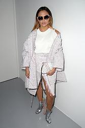 Liza Owen attending the Eudon Choi Autumn/Winter 2017 London Fashion Week show at the BFC Show Space, 180 Strand, London. Photo credit should read: Doug Peters/ EMPICS Entertainment