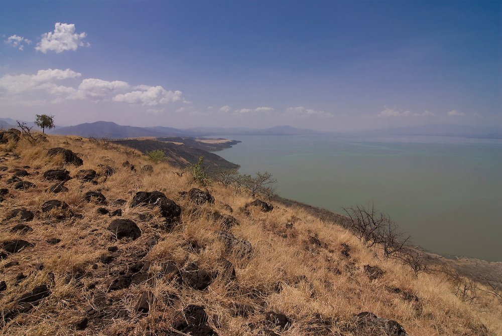Lake Chamo in the  Nechisar National Park, Ethiopia,Africa