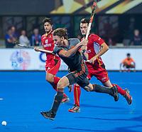 BHUBANESWAR, INDIA - Bob de Voogd (Ned)   tijdens de  finale tussen België en Nederland bij het WK Hockey heren in het Kalinga Stadion. COPYRIGHT KOEN SUYK