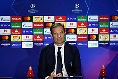 At. Madrid v Juventus Training and Press Conference - 19 Feb 2019