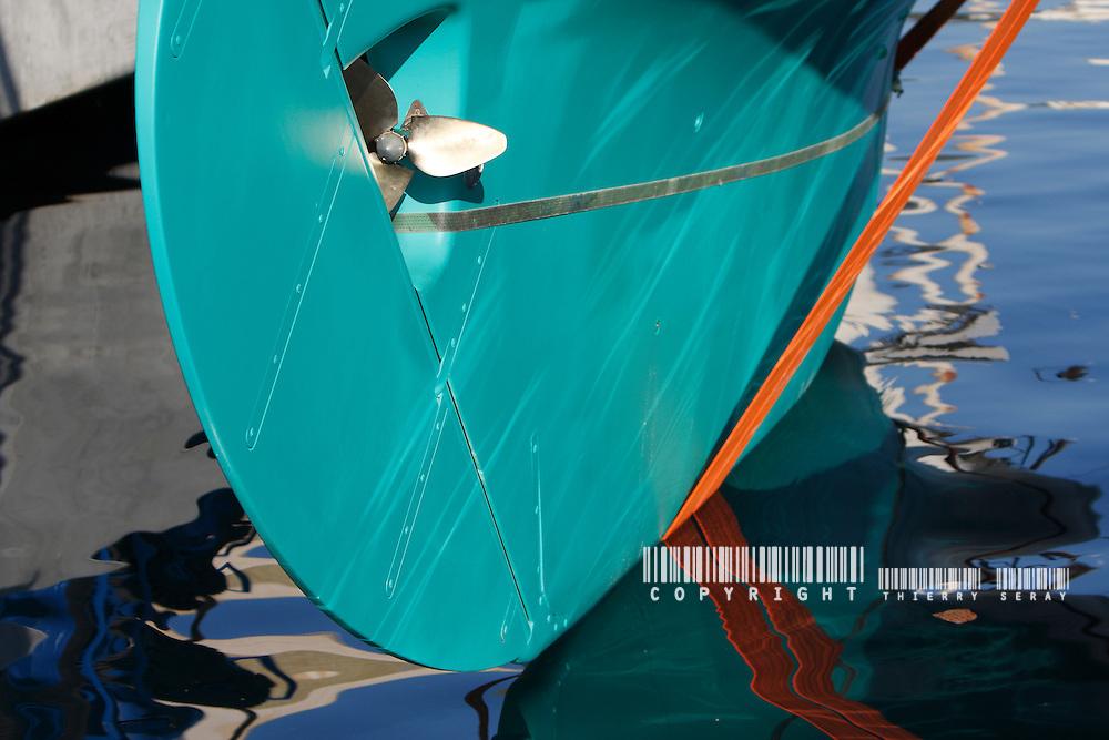 MARISKA REFIT : BOAT LAUNCH-SEPTEMBER 11-LA CIOTAT-SOUTH OF FRANCE