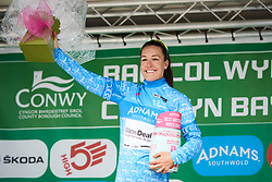 Dani Rowe (GBR) is awarded the best British rider at OVO Energy Women's Tour 2018 - Stage 5, a 122 km road race from Dolgellau to Colwyn Bay, United Kingdom on June 17, 2018. Photo by Sean Robinson/velofocus.com