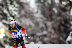 March 9, 2019 - –Stersund, Sweden - 190309 Erlend Bjøntegaard of Norway competes in the Men's 10 KM sprint during the IBU World Championships Biathlon on March 9, 2019 in Östersund..Photo: Petter Arvidson / BILDBYRÃ…N / kod PA / 92252 (Credit Image: © Petter Arvidson/Bildbyran via ZUMA Press)