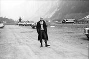 Gavin in Switzerland, 1980s.