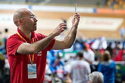 Coach, FRA, Individual Pursuit, 2015 UCI Para-Cycling Track World Championships, Apeldoorn, Netherlands