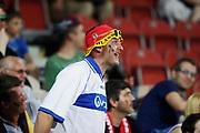 KRAKOW, POLEN 2017-06-24<br /> En tysk supporter under UEFA U21 matchen mellan Italien och Tyskland p&aring; Krakow Stadium den 24 juni, 2017 i Krakow, Polen<br /> Foto: Nils Petter Nilsson/Ombrello<br /> ***BETALBILD***