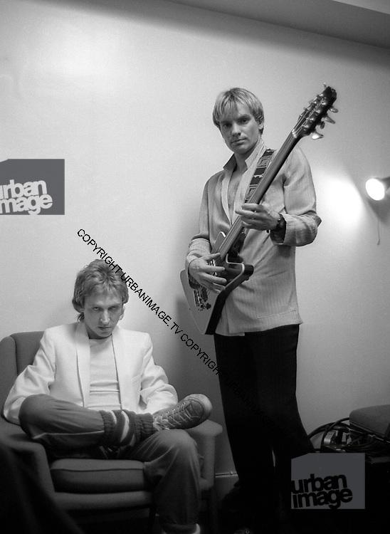 Sting - The Police - 1979 Soundcheck