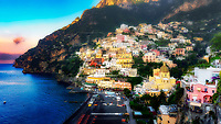 &ldquo;Positano dawn awakening from a peaceful sleep&rdquo;&hellip;<br />