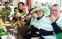 ALPHEN AAN DEN RIJN - Golfclub Zeegersloot heeft het GEO certificaat in ontvangst genomen, in aanwezigheid van origineel in het groen verklede leden.  COPYRIGHT KOEN SUYK