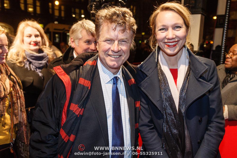 NLD/Amsterdam/20160311 - Inloop Boekenbal 2016, Boris Dittrich en ..........