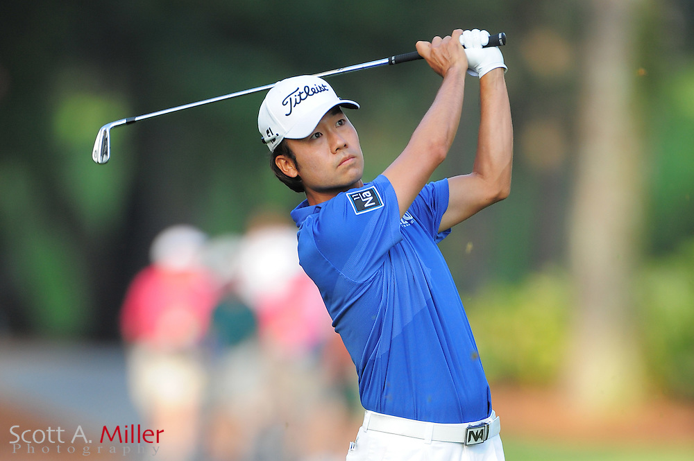 Kevin Na during the first round of the Players Championship at the TPC Sawgrass on May 10, 2012 in Ponte Vedra, Fla. ..©2012 Scott A. Miller..