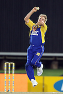CENTURION, SOUTH AFRICA - 9  January 2009, Stiaan van Zyl bowling during the MTN Domestic Championship Semi Final match between The Nashua Titans and The Nashua Cape Cobras held at SuperSport Park, Centurion, South Africa..Photo by Barry Aldworth/SPORTZPICS