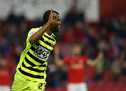 Yeovil Town's Joel Grant celebrates his goal - Photo mandatory by-line: Matt Bunn/JMP - Tel: Mobile: 07966 386802 14/12/2013 - SPORT - Football - Barnsley - Oakwell - Barnsley v Yeovil Town - Sky Bet Championship