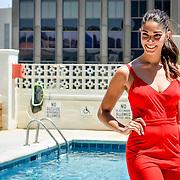 Miss Texas Earth Swimsuit Preview at the Hotel Indigo, El Paso Texas Jun 16,2017