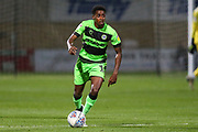Forest Green Rovers Reece Brown(10) runs forward during the EFL Sky Bet League 2 match between Cambridge United and Forest Green Rovers at the Cambs Glass Stadium, Cambridge, England on 2 October 2018.