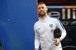 Gary Cahill of Chelsea arrives at Selhurst Park - Mandatory by-line: Jason Brown/JMP - 14/10/2017 - FOOTBALL - Selhurst Park - London, England - Crystal Palace v Chelsea - Premier League
