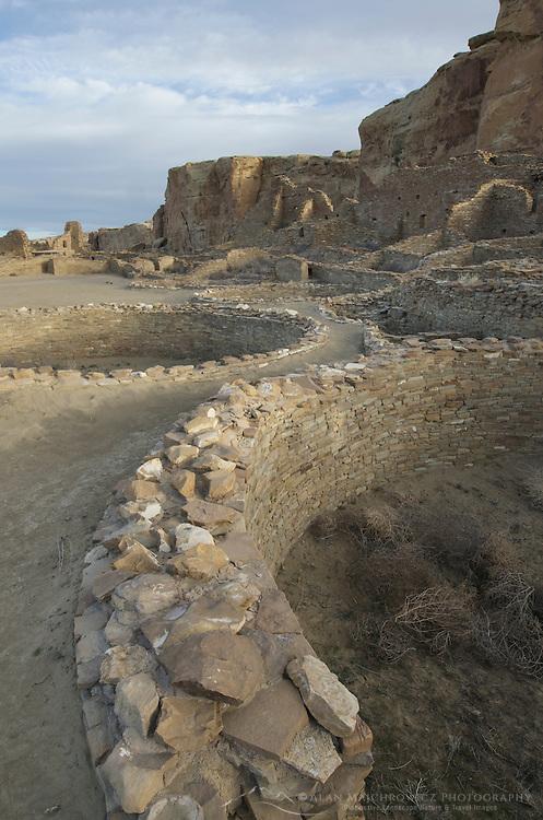 Kiva at Pueblo Bonito Ruins, Chaco Culture National Historical Park, New Mexico