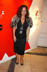 A party hosted by Mario Testino, Bianca Jagger and Kenneth Cole in collaboration with UNFPA and Marie Stopes International to celebrate the publication of Women to Woman: Positively Speaking - a book to raise awareness of women living with HIV/Aids, held at The Orangery, Kensington Palace, London on 2nd December 2004.<br />Picture shows:-BEBEL GILBERTO.<br /><br />NON EXCLUSIVE - WORLD RIGHTS