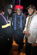 l to r: Abdul Rachman,  Will Calhoun and Mos Def at Rehearsals for Mos Def Produced by Jill Newman Productions held at Yoshi's Oakland in Oakland, California on April 14, 2009...***Exclusive***