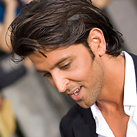 SHEFFIELD, UNITED KINGDOM - 9th June 2007: Bollywood actor Hrithik Roshan at International Indian Film Academy Awards (IIFAs) at the Sheffield Hallam Arena on June 9, 2007 in Sheffield, England.