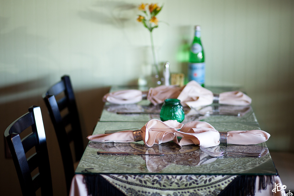 Interior at Ariana Restaurant in Voorhees. (Photo/Douglas Bovitt)