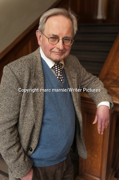 Allan Massie<br /> 12th April 2013<br /> <br /> Photograph by marc marnie/Writer Pictures<br /> <br /> WORLD RIGHTS