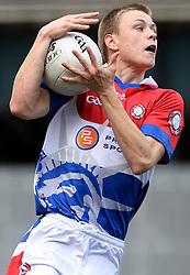May 6, 2012; Bronx, NY; USA; New York's Donnacha O'Dwyer catches a pass during their game against Sligo at Gaelic Park.