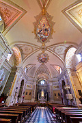 Italy, Collio. Capriva del Friuli. The church.
