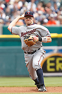 April 29, 2010:  Minnesota Twins' Brendan Harris (23) during the MLB baseball game between the Minnesota Twins vs Detroit Tigers at  Comerica Park in Detroit, Michigan. Tigers defeated the Twins 3-0.