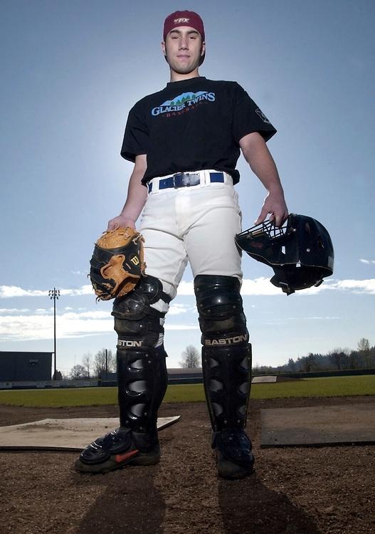 Dallas High catcher Ryan Fobert.