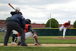 10 May 2019:   UHigh Pioneers at Normal Community Ironmen at NCHS baseball diamond in Normal Il<br /> <br /> (Photo by Alan Look)