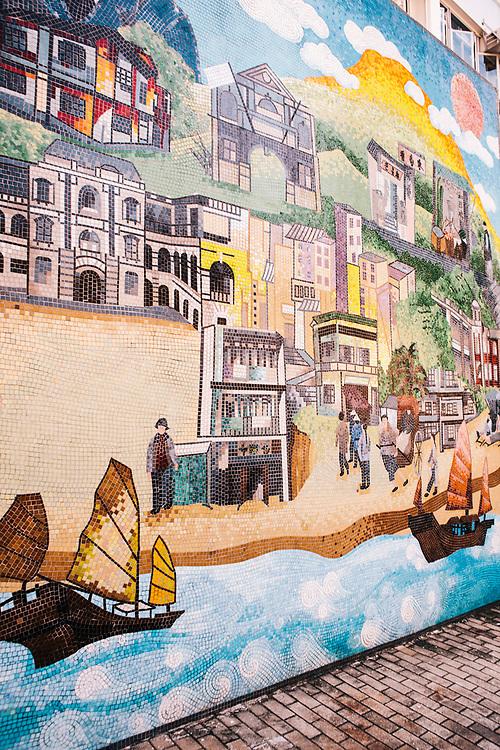 Mural of Hong Kong's history linked to Sun Yat Sen