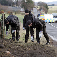 Five dead in a road traffic accident on the A85 Perth to Crieff road near Burnbrae garage.<br />