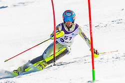51# Esteve Axel from Andora during the slalom of National Championship of Slovenia 2019, on March 24, 2019, on Krvavec, Slovenia. Photo by Urban Meglic / Sportida