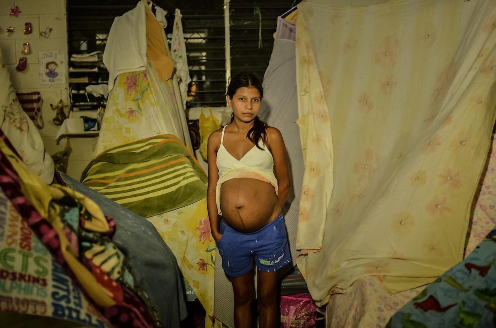 Overcrowding and lack of resources plague Ilopango Women's prison in San Salvador, El Salvador.