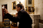 09.MAY.2012. WASHINGTON D.C<br /> <br /> PRESIDENT BARACK OBAMA DANCES WITH FIRST LADY MICHELLE OBAMA IN THE BLUE ROOM OF THE WHITE HOUSE PRIOR TO AN &quot;IN PERFORMANCE AT THE WHITE HOUSE&quot; SERIES CONCERT HONORING SONGWRITERS BURT BACHARACH AND HAL DAVID<br /> <br /> BYLINE: EDBIMAGEARCHIVE.CO.UK<br /> <br /> *THIS IMAGE IS STRICTLY FOR UK NEWSPAPERS AND MAGAZINES ONLY*<br /> *FOR WORLD WIDE SALES AND WEB USE PLEASE CONTACT EDBIMAGEARCHIVE - 0208 954 5968*