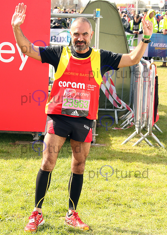 Andrew Barton, Virgin Money London Marathon, London UK, 24 April 2016, Photo by Brett D. Cove