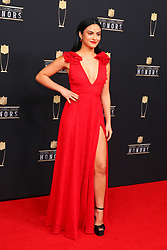 February 2, 2019 - Atlanta, GA, U.S. - ATLANTA, GA - FEBRUARY 02:  Camila Mendes poses for photos on the red carpet at the NFL Honors on February 2, 2019 at the Fox Theatre in Atlanta, GA. (Photo by Rich Graessle/Icon Sportswire) (Credit Image: © Rich Graessle/Icon SMI via ZUMA Press)