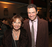 Audrey Hoare and Dominic West