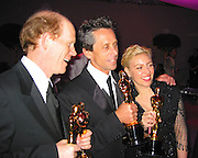 Ron Howard, Brian Glaser ( Best Pictuer for A Beautiful Mind) & Catherine Martin (Best Costume for Moulin Rouge)<br />