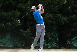 September 22, 2018 - Atlanta, Georgia, United States - Tiger Woods tees off the 8th hole during the third round of the 2018 TOUR Championship. (Credit Image: © Debby Wong/ZUMA Wire)