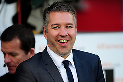 Peterborough United Manger, Darren Ferguson  smiles as his team beats Cardiff City - Photo mandatory by-line: Dougie Allward/JMP  - Tel: Mobile:07966 386802 15/12/2012 - SPORT - FOOTBALL -  Championship -  Cardiff-  New Cardiff City Stadium  -  Cardiff City v Peterborough United