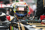 October 8-11, 2015: Russian GP 2015: Pastor Maldonado, (VEN), Lotus