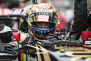 October 8-11, 2015: Russian GP 2015: Pastor Maldonado, (VEN), Lotus