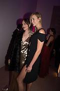 DAKOTA JOHNSON; KARLIE KLOSS, Vogue100 A Century of Style. Hosted by Alexandra Shulman and Leon Max. National Portrait Gallery. London. WC2. 9 February 2016.