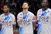 DESCRIZIONE : Campionato 2014/15 Serie A Beko Dinamo Banco di Sardegna Sassari - Upea Capo D'Orlando <br /> GIOCATORE : Brian Sacchetti<br /> CATEGORIA : Before Pregame<br /> SQUADRA : Dinamo Banco di Sardegna Sassari<br /> EVENTO : LegaBasket Serie A Beko 2014/2015 <br /> GARA : Dinamo Banco di Sardegna Sassari - Upea Capo D'Orlando <br /> DATA : 22/03/2015 <br /> SPORT : Pallacanestro <br /> AUTORE : Agenzia Ciamillo-Castoria/C.Atzori <br /> Galleria : LegaBasket Serie A Beko 2014/2015